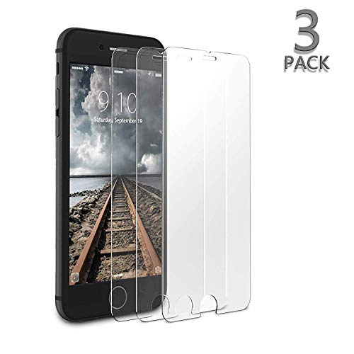 Compatible with iPhone 8/7/6/6s Screen Protector,3-Pack baoanbao Tempered Glass Screen Protector 3D Touch Clear Screen Protector Glass Film Compatible with iPhone 8/7/6/6s