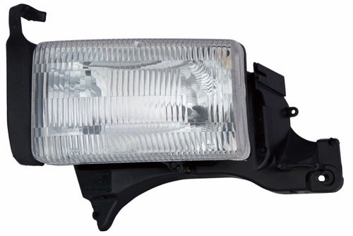 Go-Parts » Compatible 1994-2001 Dodge Ram 1500 Front Headlight Headlamp Assembly Front Housing/Lens / Cover - Left (Driver) Side - (Laramie + ST + WS) 55054781AF CH2518108 Replacement for Dodge Ram
