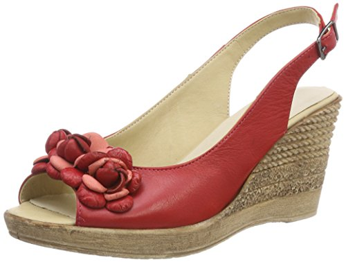 Andrea Conti 1675718, Bout Ouvert Femme Rouge (Rot 021)