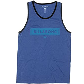 Billabong Mens Boxer Tank Shirt, Royal Heather, Medium