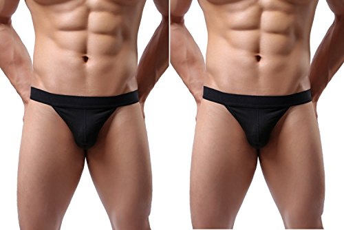 Barsty Men's Sexy Underwear Thong G-string Elastic Smooth...