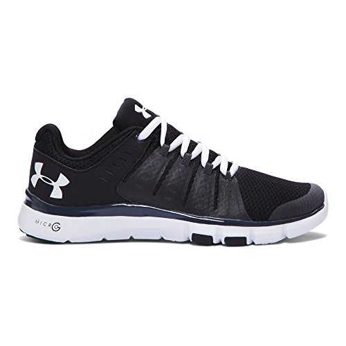 Under Armour Women's Micro G Limitless 2 Training Shoes, Black/Stealth Gray, 8
