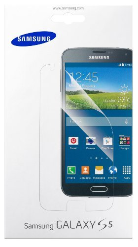 35 opinioni per Samsung ET-FG900CTEGWW Pellicola Protettiva Schermo per Galaxy S5