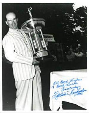 Harry Cooper Autographed Photograph - Black & White 8x10 - Autographed Golf Photos
