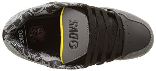 DVS APPAREL Enduro 125, Zapatillas de Skateboarding para Hombre Noir (Black Grey Leather Nubuck Deegan)