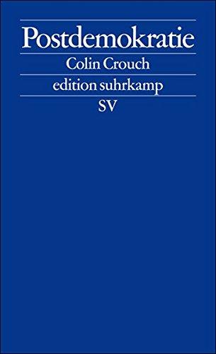 Postdemokratie (edition suhrkamp)