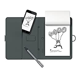 Wacom Bamboo Spark Smart Folio with Gadget Pocket and Digital Ballpoint Pen (Old Version)
