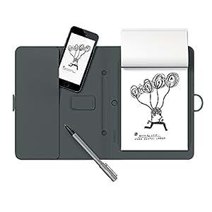 Wacom Bamboo Spark Smart Folio with Gadget Pocket and Digital Ballpoint Pen