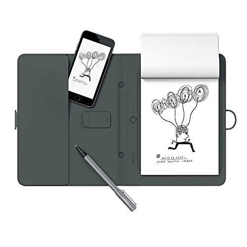 Wacom Bamboo Spark Smart Folio with Gadget Pocket and Digital Ballpoint Pen