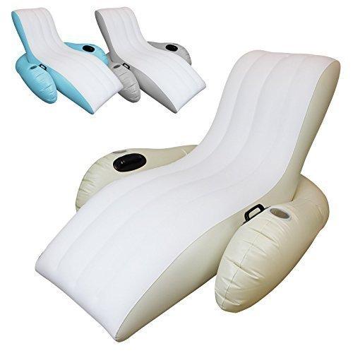 Linxor France® Asiento hinchable flotante para piscina 3 ...