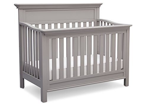 Serta Fernwood 4-in-1 Convertible Baby Crib, Grey