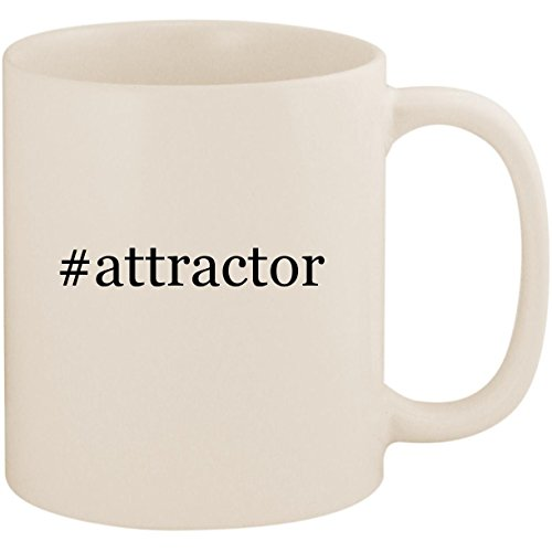 #attractor - 11oz Ceramic Coffee Mug Cup, White