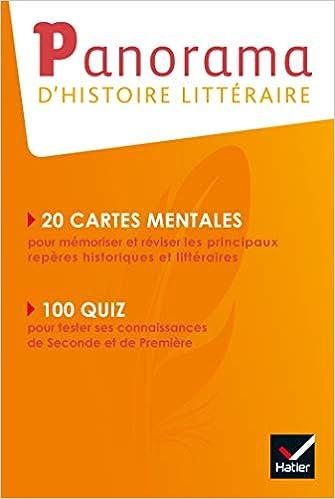 Panorama D Histoire Litteraire Francais 2de 1re Ed 2019