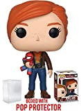 Funko Pop! Marvel: Spider-Man Video Game - Mary Jane Vinyl Figure (Bundled with Pop Box Protector Case)