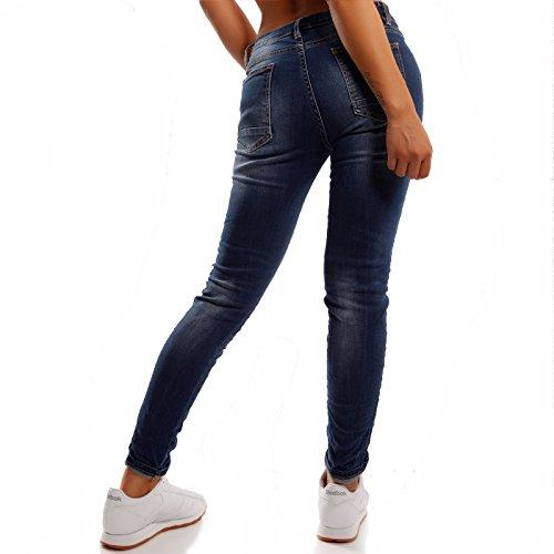 Jeans Italy Basic Blu Made Boyfriend Donna x6ZqqB1w