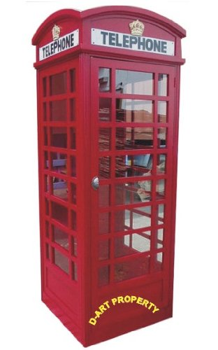 D-ART COLLECTION Big London Telephone Booth