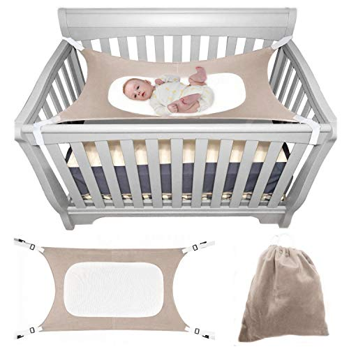 Metal Mesh Insert - Itomoro Baby Hammock Crib Wombs for Bassinet Infant Newborn,Enhanced Material,Double-Layer Breathable Supportive Mesh Metal Buckle Hammocks Bed