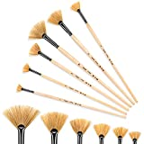 golden maple Artist Paint Brushes Oil Professional