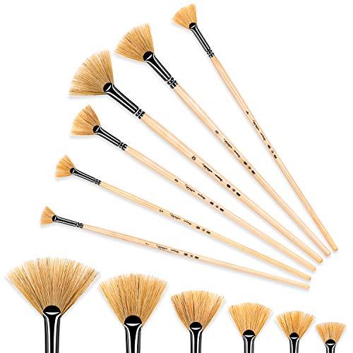 golden maple Artist Paint Brushes Oil Professional