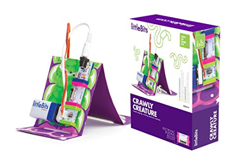 littleBits Hall of Fame Crawly Creature Starter Kit, Purple