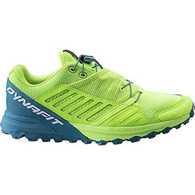 Dynafit Alpine Pro Trail Running Shoes 11 D(M) US Fluo Yellow Mykonos Blue
