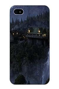 Fashion Dreamlike Landscape Case Cover Design For Apple Iphone 5C Case Cover