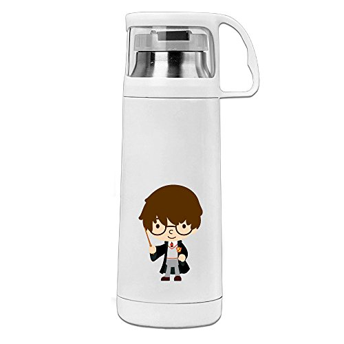 [Bekey Harry Potter Cartoon Stainless Steel Vacuum Travel Mug With Handle Cup Water Bottle] (Sims 3 Seasons Costumes)