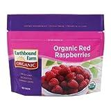 Earthbound Farm Organic Red Raspberries, 8 Ounce - 12 per case.