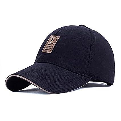 9043dd1072a EDIKO And Golf Logo Cotton Baseball Cap Sports Golf Snapback Outdoor Simple  Solid Hats For Men Bone Gorras Casquette Chapeu  Amazon.co.uk  Kitchen    Home