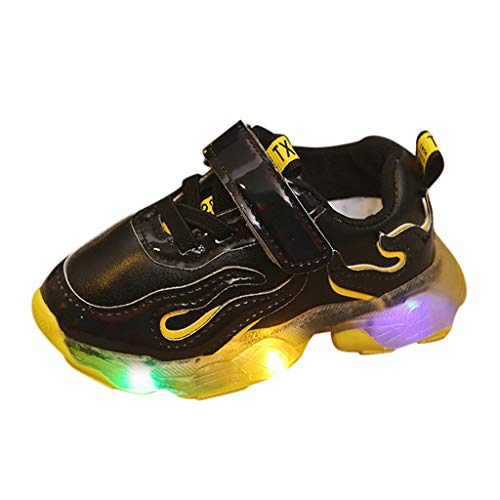 Mgk In A Suit (Toddler Baby Boys Girls Casual Mesh LED Light Luminous Sport Running Shoes Sneakers)