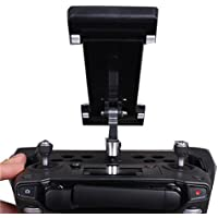 QwinOut Tablet Pad Extension Bracket Scalable Support Foldable Cellphone Holder For DJI Mavic Pro Drone (Black)