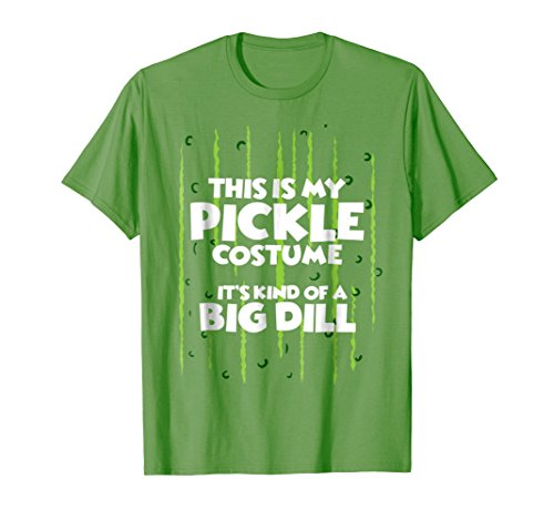 Mens Pickle Halloween Costume Shirt Easy Funny Women