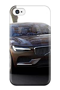 Heidiy Wattsiez's Shop 4531476K63243677 Ideal Case Cover For Iphone 4/4s(2014 Volvo Estate Concept), Protective Stylish Case