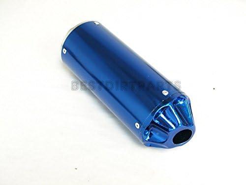 MAXFASTMAX HIGH PERFORMANCE MUFFLER PIPE EXHAUST XR50 CRF50 XR CRF SDG SSR 125CC ALL BLUE TM
