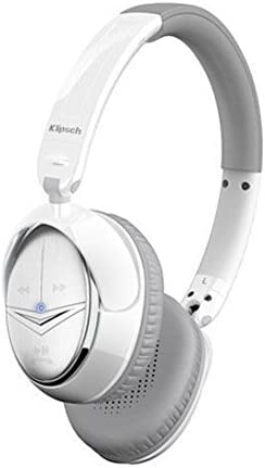 Klipsch Image One(II) 1016002 On-Ear Stereo Headphones with 3-Button Controls, White