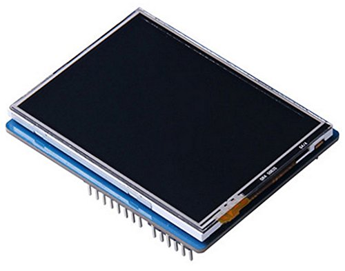 2.8'' TFT Touch Shield With 4MB Flash For Arduino And Mbed/Provide2.8 ''TFT LCD, Resistive Touch Screen, Built-In Flash Flash And SD Card External Expansion Storage by D&F