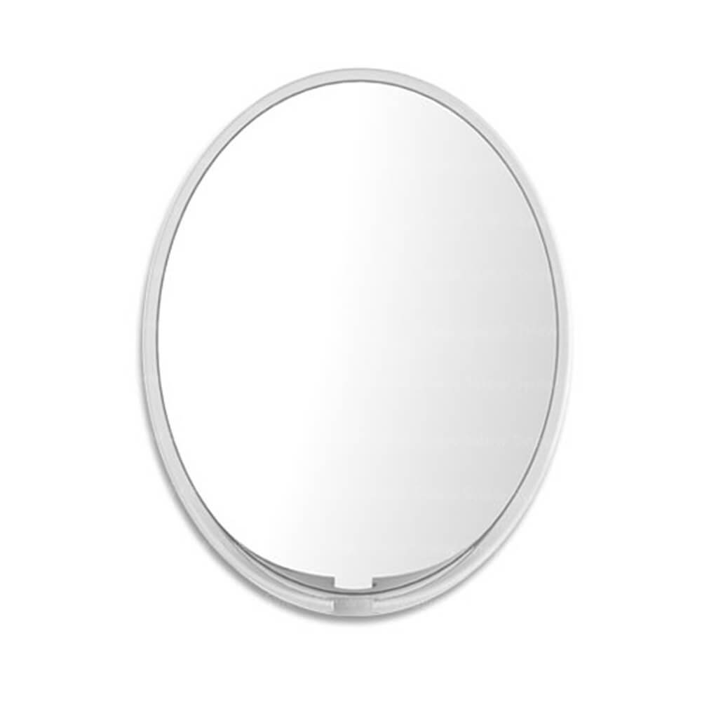 SEWHA Fog Free Shower Wall Glass Mirror with Razor Hook, Anti Bacterial, Oval, 7.7 x 9.7 7.7 x 9.7