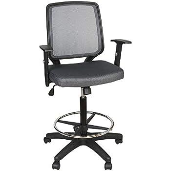 Amazon Com Utrahome Desk Swivel Chair Vanity Task Mid