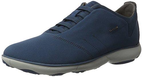 Geox Herren U Nebula F Sneaker, Blau (Avio)