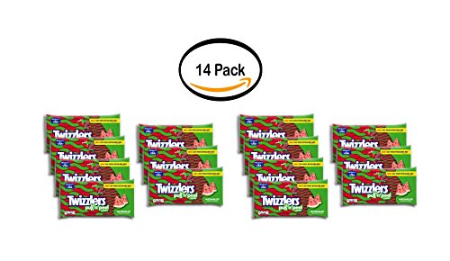 PACK OF 14 - Twizzlers, Watermelon Pull 'n' Peel, 14 Oz (Twizzlers Watermelon)