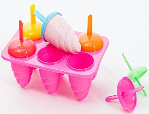 esto24® 2 x 6 Eisformen für 12x Stieleis in 4 tollen Farben erhältlich