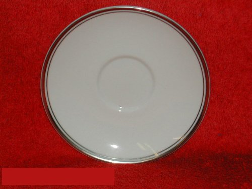 (Royal Doulton Oxford Platinum #TC1227 Saucers Only)