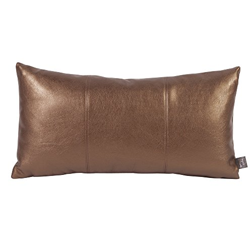 Howard Elliott 4-772 Kidney Pillow, Luxe Bronze