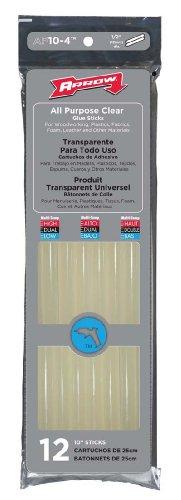 Arrow Fastener AP10BP 10-Inch Hot Melt Glue Stix, 5-Pound Box by Arrow Fastener