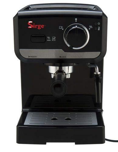 Sirge LUSSY - Máquina para café espresso y capuchino café de polvo ...