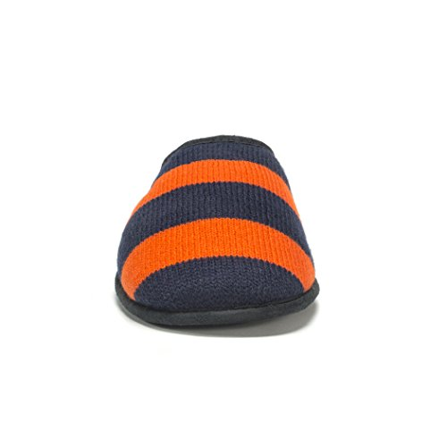 Mukluks Men's Muk LUKS Game Day Scuffs-Orange Slipper Orange 0b7jxln