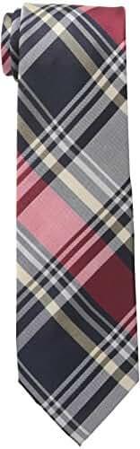 Ben Sherman Men's Alfred Plaid Skinny Tie
