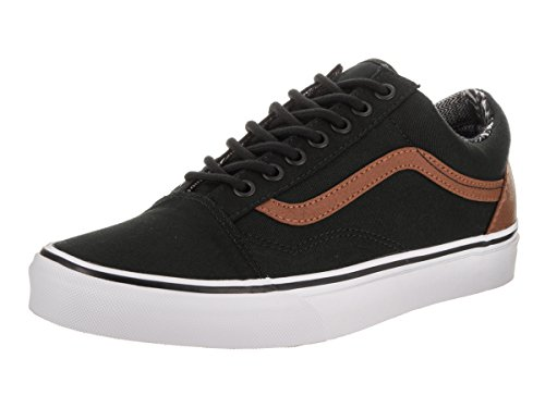 Vans Trainers Adults' L Material Skool Mix Black Old Top C Black Low Unisex and rYArUq