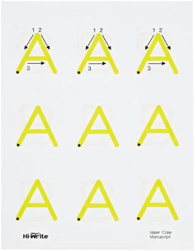 Abilitations Integrations Hi Write Upper Case Alphabet Paper - 104 Page Pack