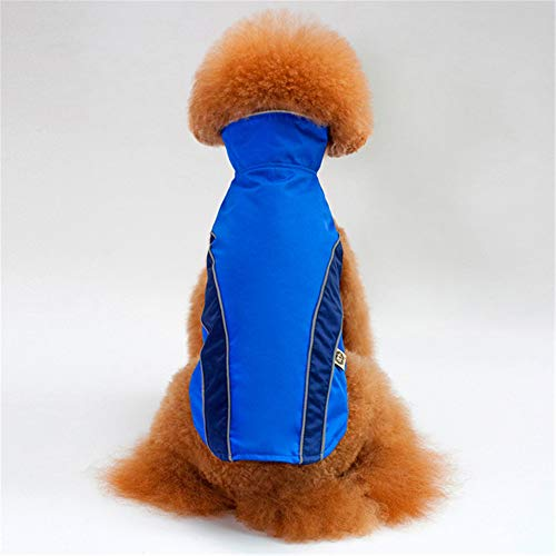 Jdogayncat Pet Supplies, Autumn and Winter Festivals Bomei Teddy Small Dog Clothes, Outdoor Safety Protection Jackets Ski Clothing Dog Jacket -